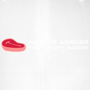 Meat Is Murder. Tasty, Delicious Murder! - Flexfit Baseball Cap