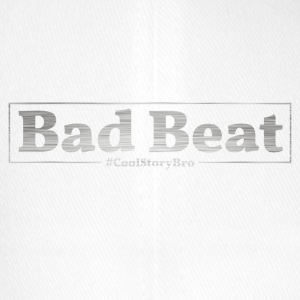 Bad Beat Poker - Cappello con visiera Flexfit