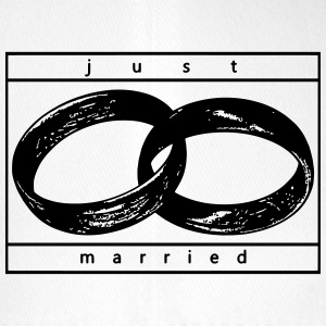 Just Married - Flexfit baseballcap