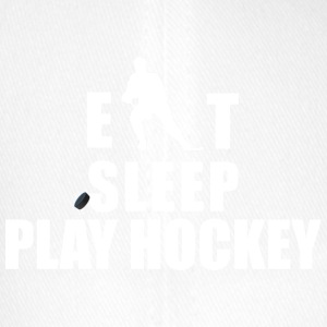 Hockey Eat Sleep Play Hockey - Flexfit Baseball Cap