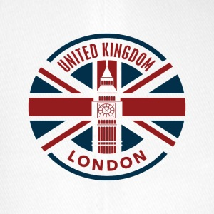 Storbritannien - London - Union Jack flagga - Flexfit basebollkeps