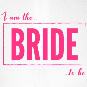 I am the Bride To Be in hot pink - Flexfit Baseball Cap