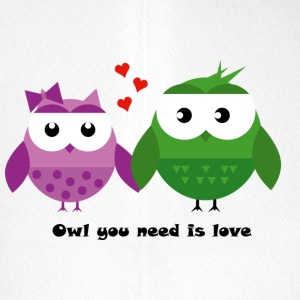 Owl you need is love - Flexfit Baseballkappe