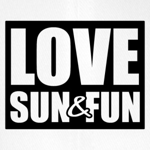 Love, Sun & Fun - Flexfit basebollkeps