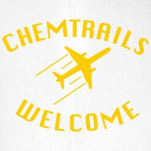chemtrails Welcome - Flexfit Baseball Cap
