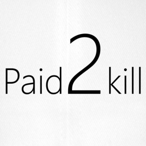 Paid2Kill - Flexfit baseballcap