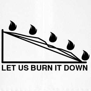 BURN DOWN CHART - Flexfit Baseball Cap