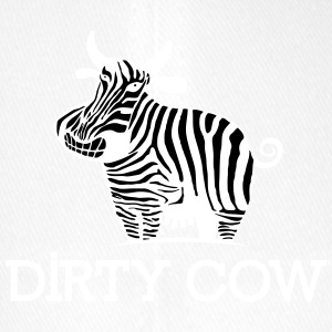 DIRTY_COW_white - Flexfit baseballcap