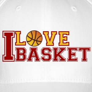 Love-Basketball - Flexfit Baseball Cap
