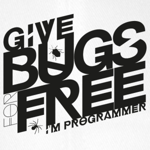 Give bugs for free, I'm programmer - Flexfit Baseball Cap