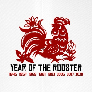 Years of The Rooster - Flexfit Baseball Cap