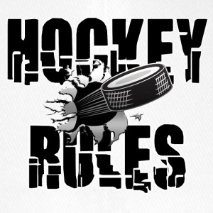 Hockey Rules - Flexfit Baseball Cap