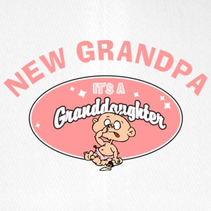 New Grandpa Personalize with Date or Name - Flexfit Baseball Cap