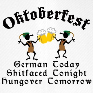 Funny Oktoberfest Drinking Beer Drunk Hungover - Casquette Flexfit