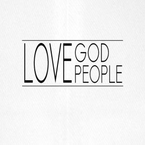 Love God Love People - Flexfit Baseball Cap
