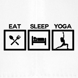 Eat Sleep Yoga - Cycle! - Flexfit baseballcap
