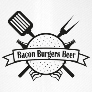 Bacon Burgers Beer - Flexfit Baseballkappe