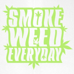 SMOKE_WEED_EVERYDAY - Casquette Flexfit
