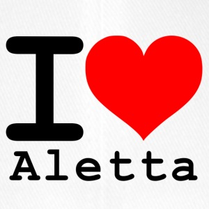 I love Aletta - Flexfit Baseball Cap