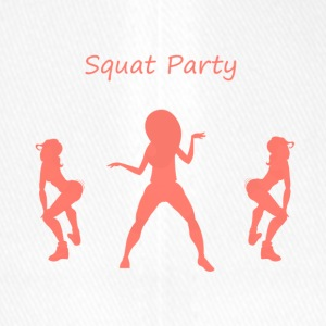 Squat party coral - Flexfit Baseball Cap