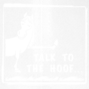 Talk to the Hoof shirt. - Flexfit Baseball Cap