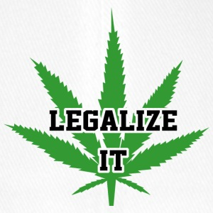 Legalize Marijuana Medical Cannabis Weed - Flexfit basebollkeps