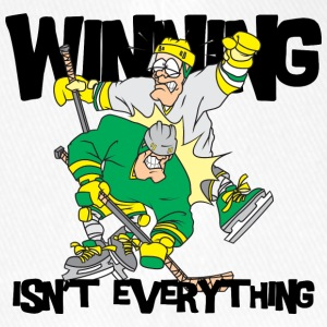 Hockey Winning Is'nt Everything - Flexfit Baseball Cap