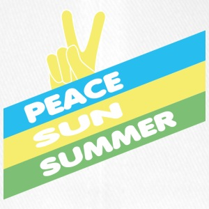 summer sun peace - Flexfit Baseball Cap
