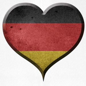 I LOVE GERMANY - DEUTSCHLAND - Flexfit Baseballkappe