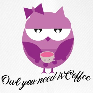Owl you need is coffee - Flexfit Baseballkappe