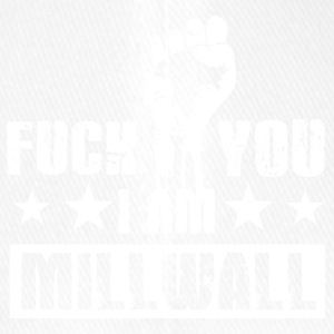 Fuck you! I am Millwall! Millwall! Anti Terror! - Flexfit Baseballkappe