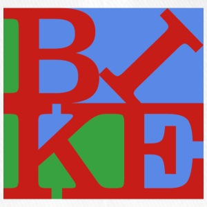 Bike, Homage to Robert Indiana, bunt x - Flexfit Baseballkappe