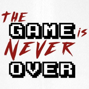 The game is never over_v2 - Flexfit Baseball Cap