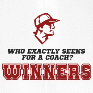 Coach / Trainer: Who exactly seeks for a coach? - Flexfit Baseball Cap