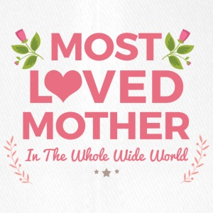 Most Loved Mother in The World - Flexfit Baseball Cap