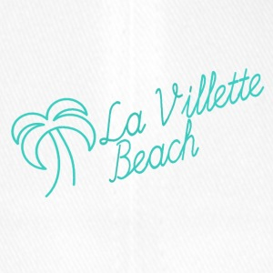 La Villette beach mint - Flexfit basebollkeps