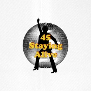staying alive logo - Flexfit Baseball Cap