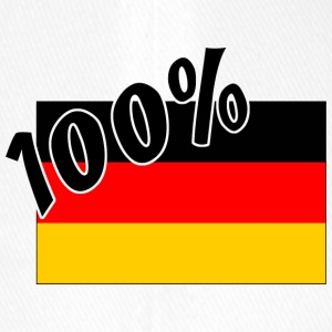 100 % German Germany Flag - Flexfit Baseball Cap