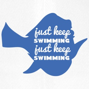 Schwimmen / Schwimmer: Just Keep Swimming - Flexfit Baseballkappe
