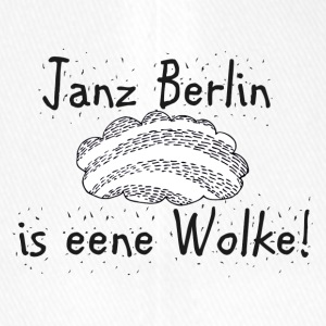 Janz Berlin is eene Wolke! Berlin Fan! - Flexfit Baseballkappe