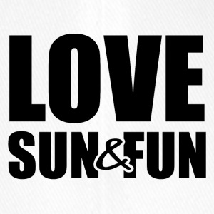 Love, Sun & Fun - Flexfit baseballcap