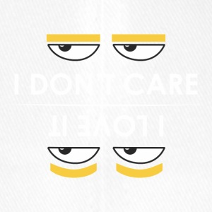 i do not care - ich liebe es, - Flexfit Baseballkappe