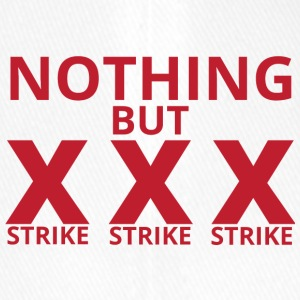 Bowling / Bowler: Nothing But Strike Strike, Stri - Czapka z daszkiem flexfit