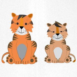 Two cute tigers - Flexfit Baseball Cap