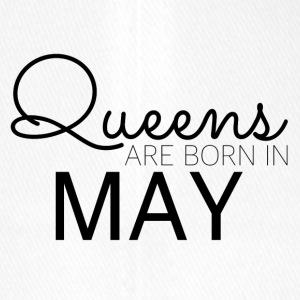 Happy Birthday: Queens are born in May - Flexfit Baseballkappe