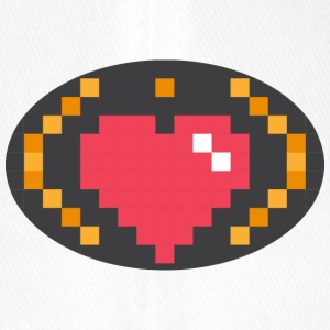 Digital Heart Isle by Isles of Shirts - Flexfit Baseballkappe