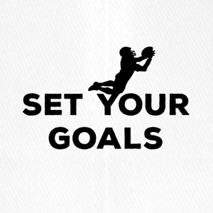 Football: Set your Goals - Flexfit Baseballkappe