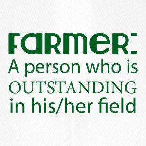 Farmer / Landwirt / Bauer: A person who is outstan - Flexfit Baseballkappe