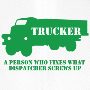 Trucker / LKW-Fahrer: A person who fixes what - Flexfit Baseballkappe