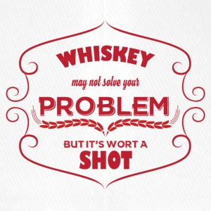 Whiskey - Whiskey may not solve your Problem... - Flexfit Baseballkappe